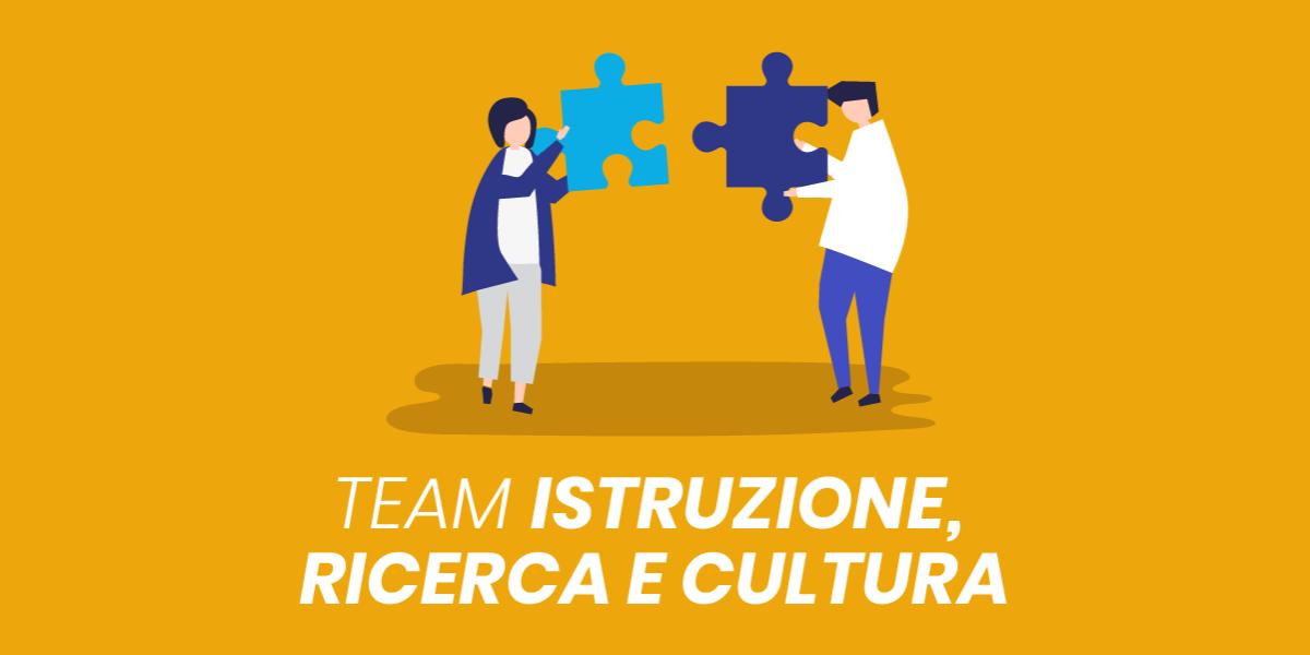 Presentazione Team del Futuro Cultura, Istruzione e Ricerca