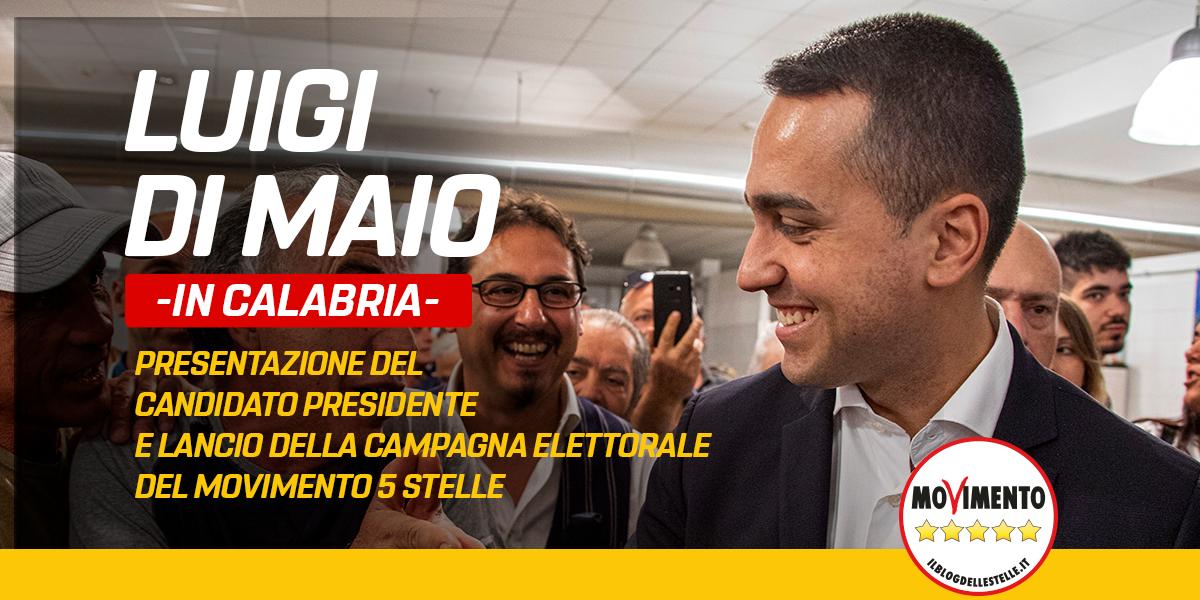 Regionali Calabria - Presentazione del Candidato Presidente