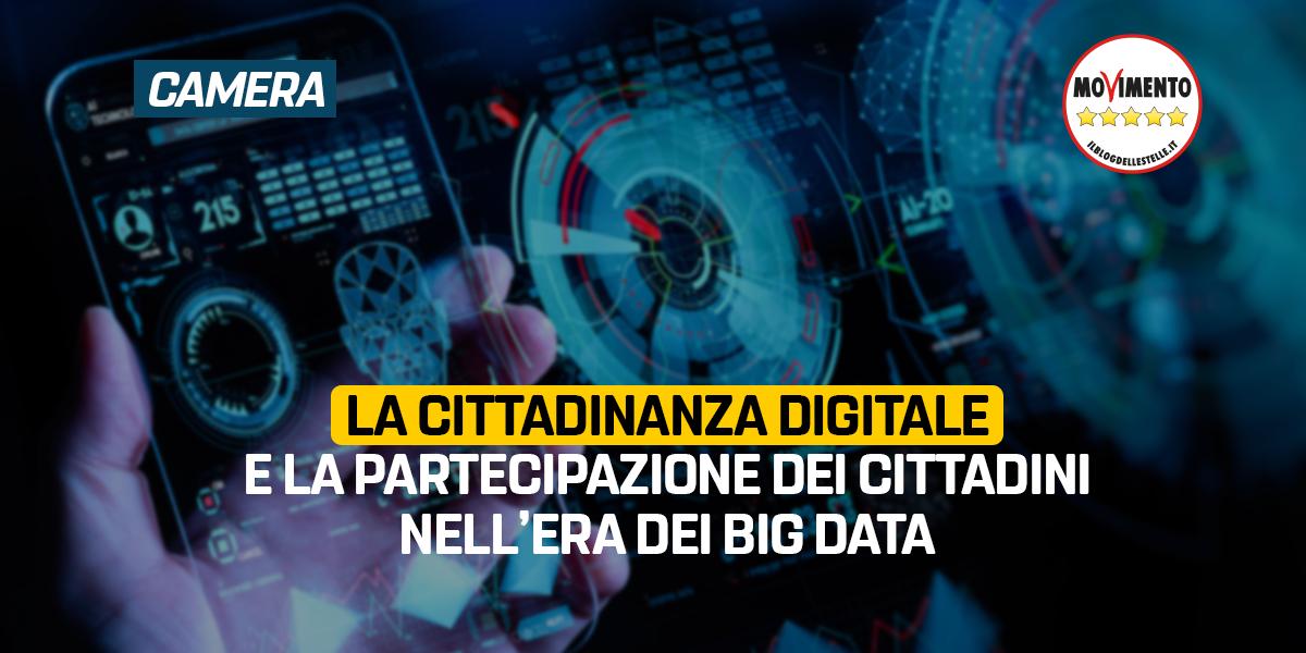 La cittadinanza digitale e la partecipazione dei cittadini nell'era dei big data