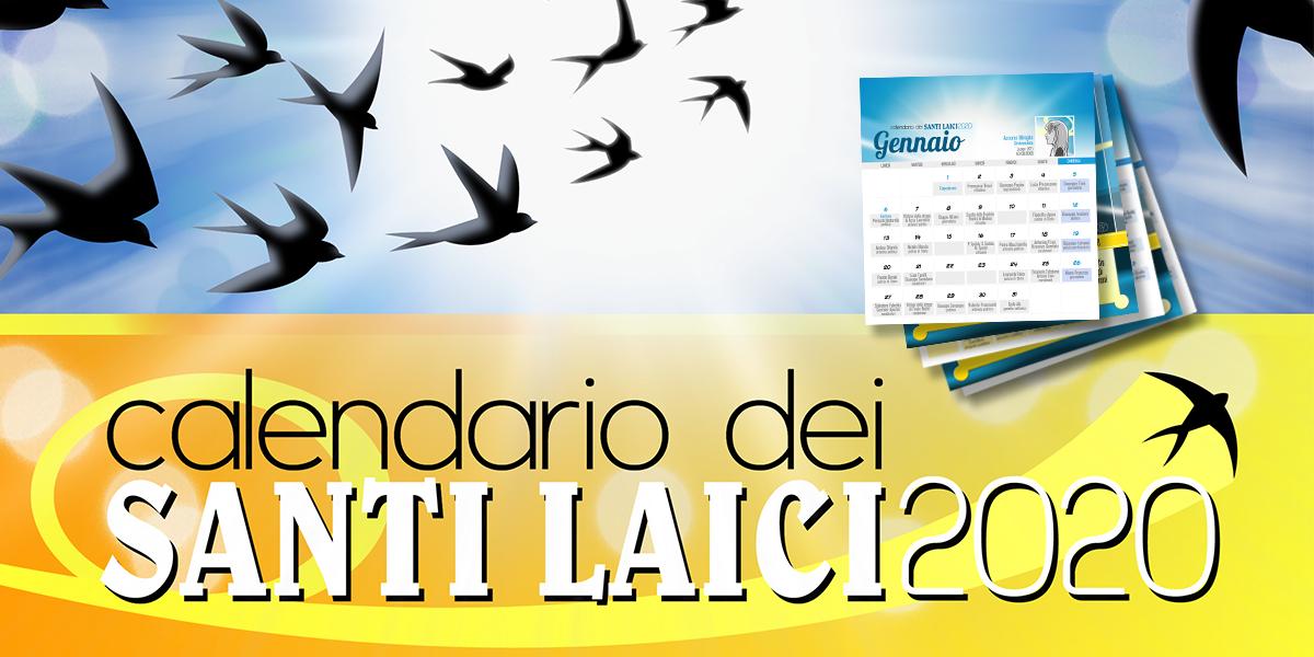 Calendario Santi Laici 2020