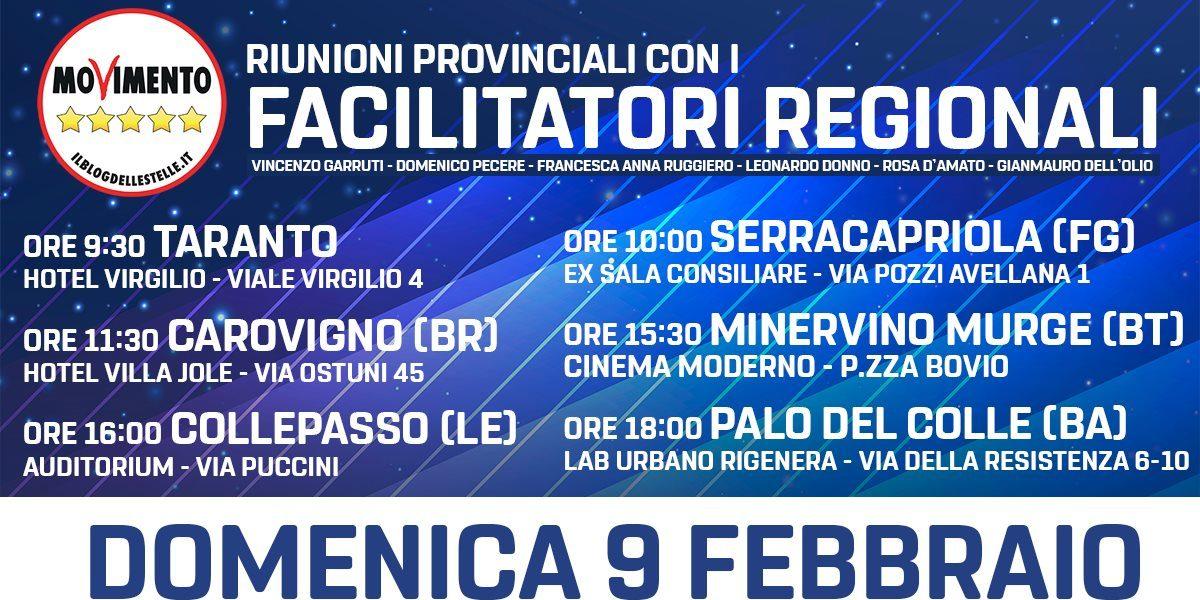 Facilitatori Regionali - Carovigno (BR)