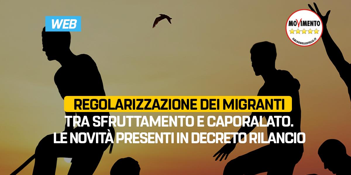 Regolarizzazione dei migranti tra sfruttamento e caporalato. Le novità presenti in decreto rilancio