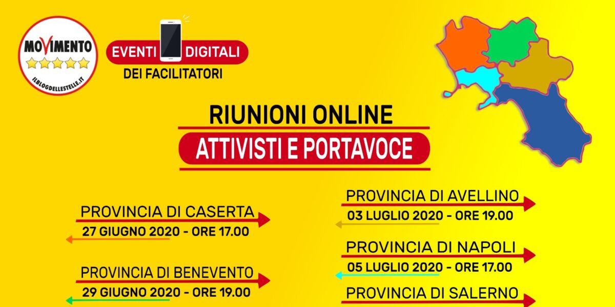 Riunione MoVimento 5 Stelle - Provincia di Benevento