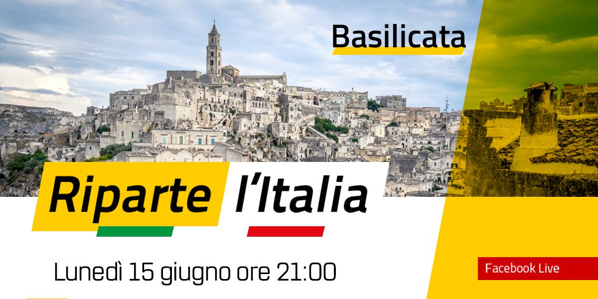 BASILICATA - Riparte l'Italia