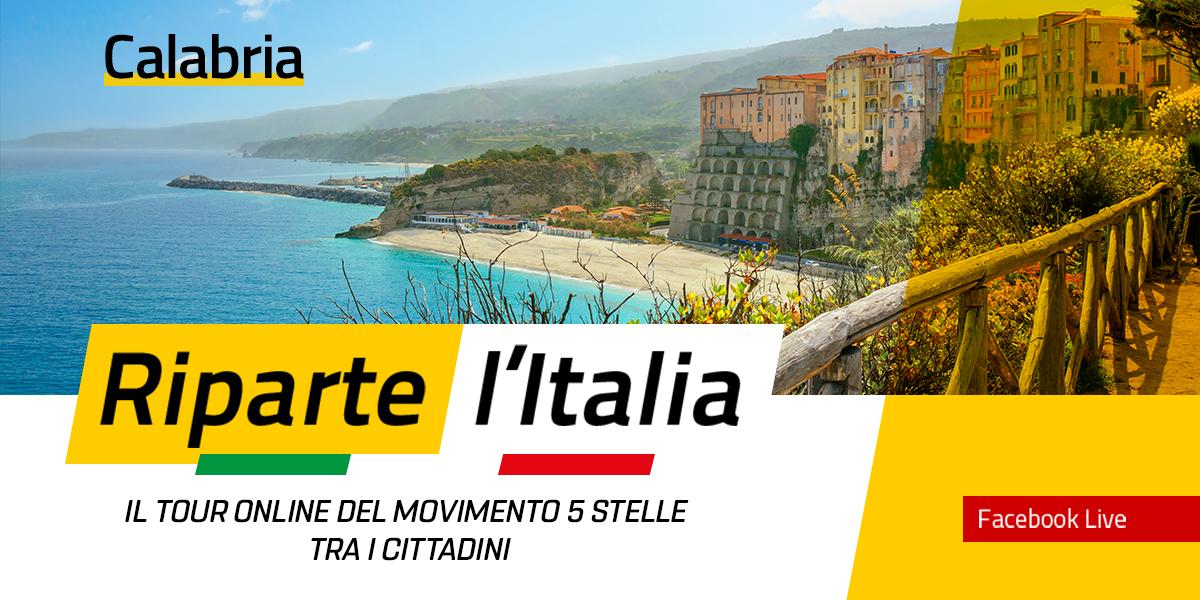 CALABRIA - Riparte l'Italia