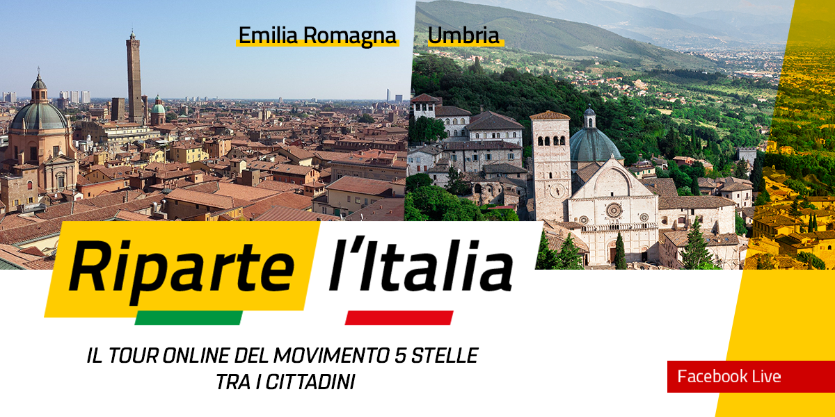 EMILIA ROMAGNA e UMBRIA - Riparte l'Italia