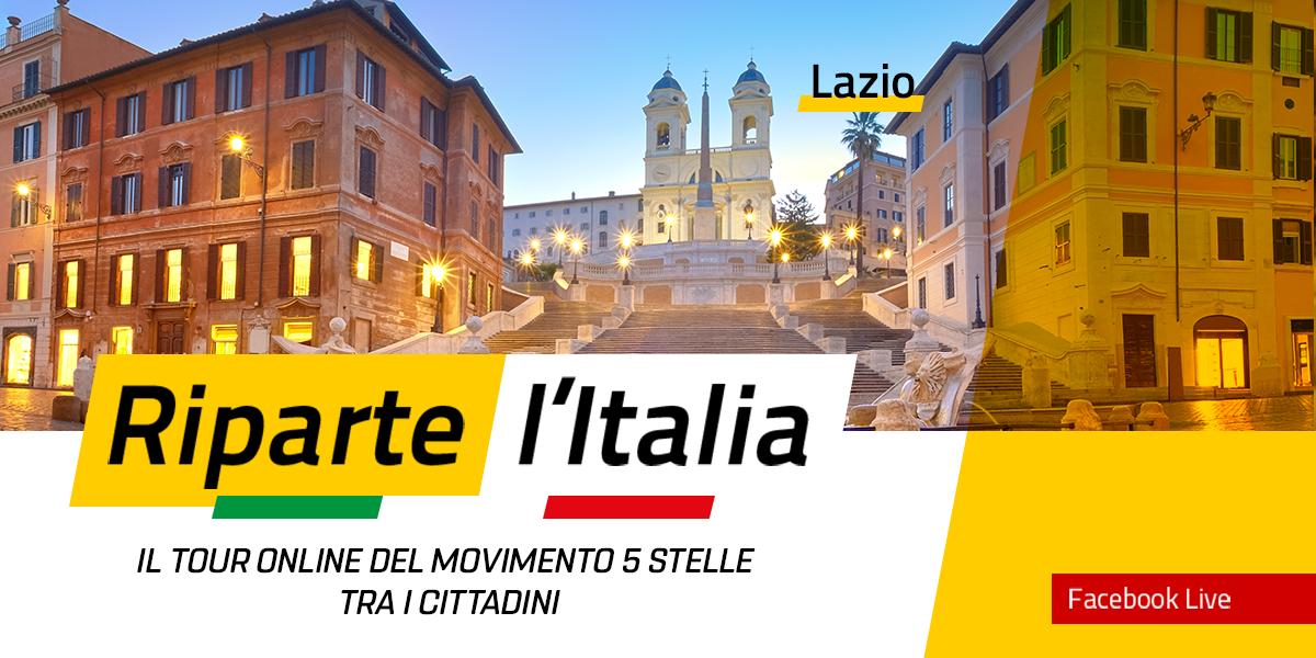 LAZIO - Riparte l'Italia