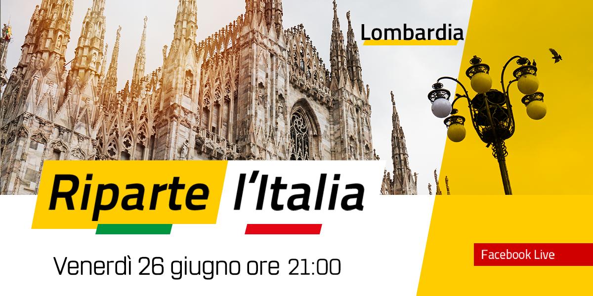 LOMBARDIA - Riparte l'Italia