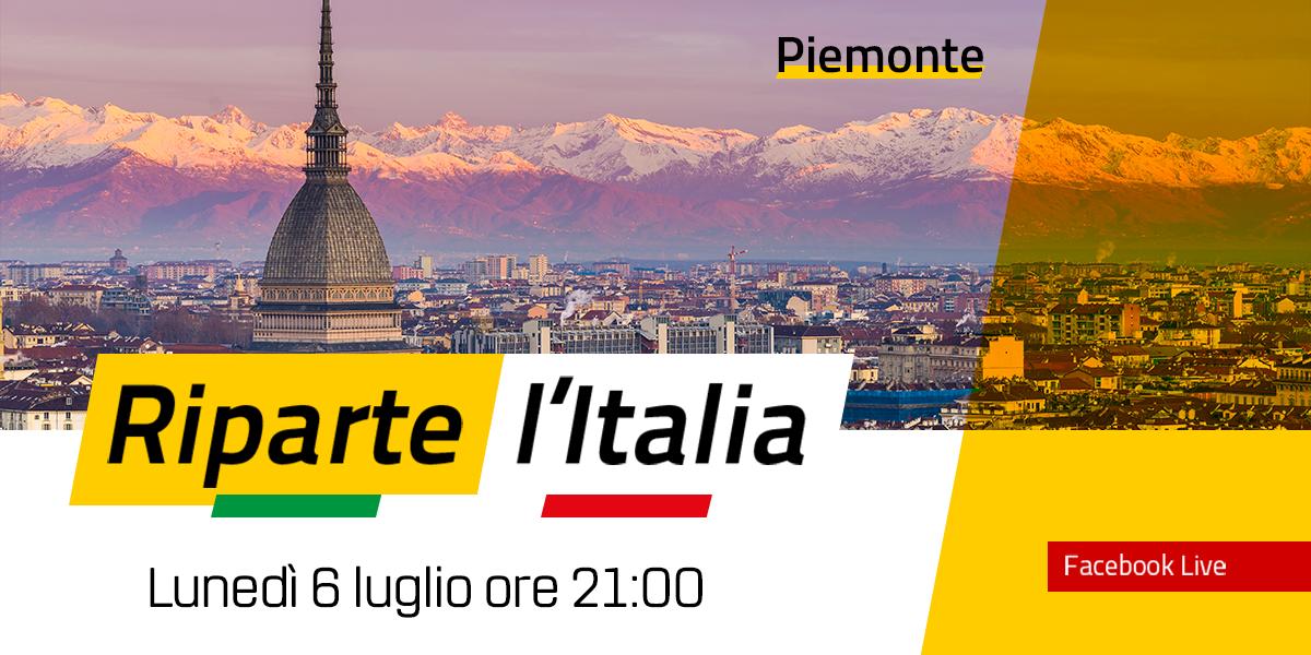 PIEMONTE - Riparte l'Italia