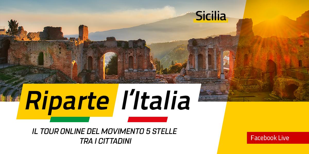 SICILIA - Riparte l'Italia