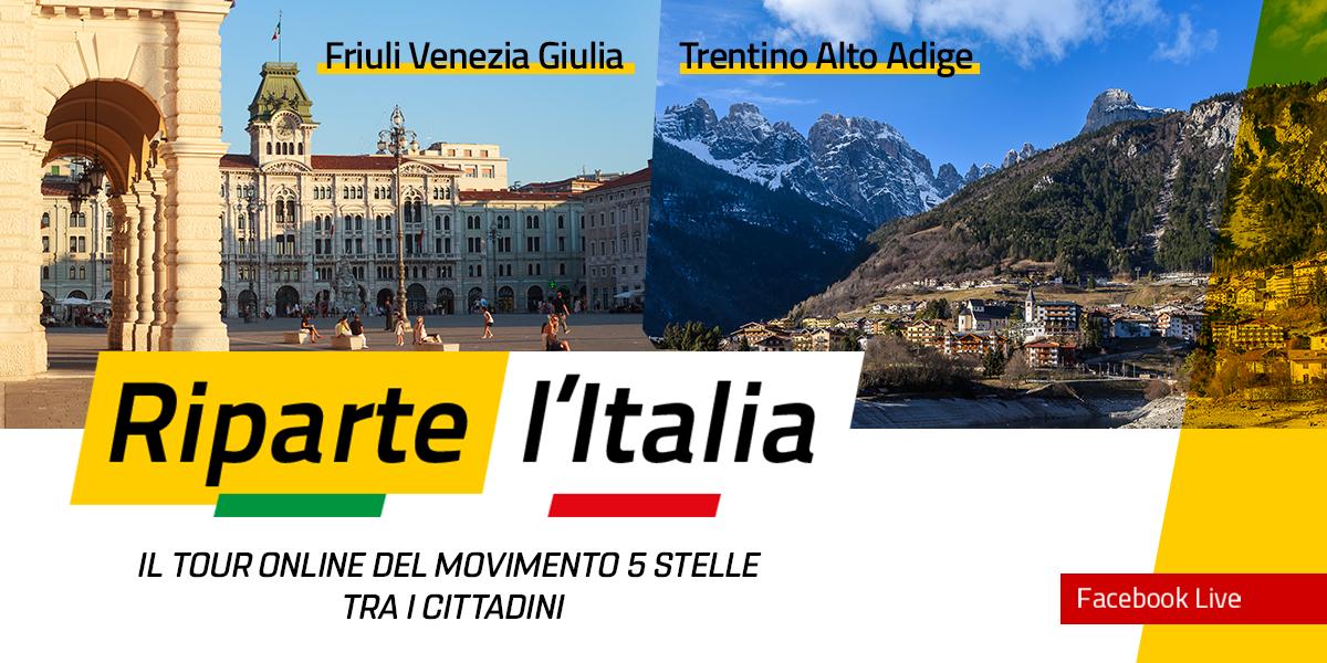 TRENTINO ALTO ADIGE e FRIULI VENEZIA GIULIA - Riparte l'Italia