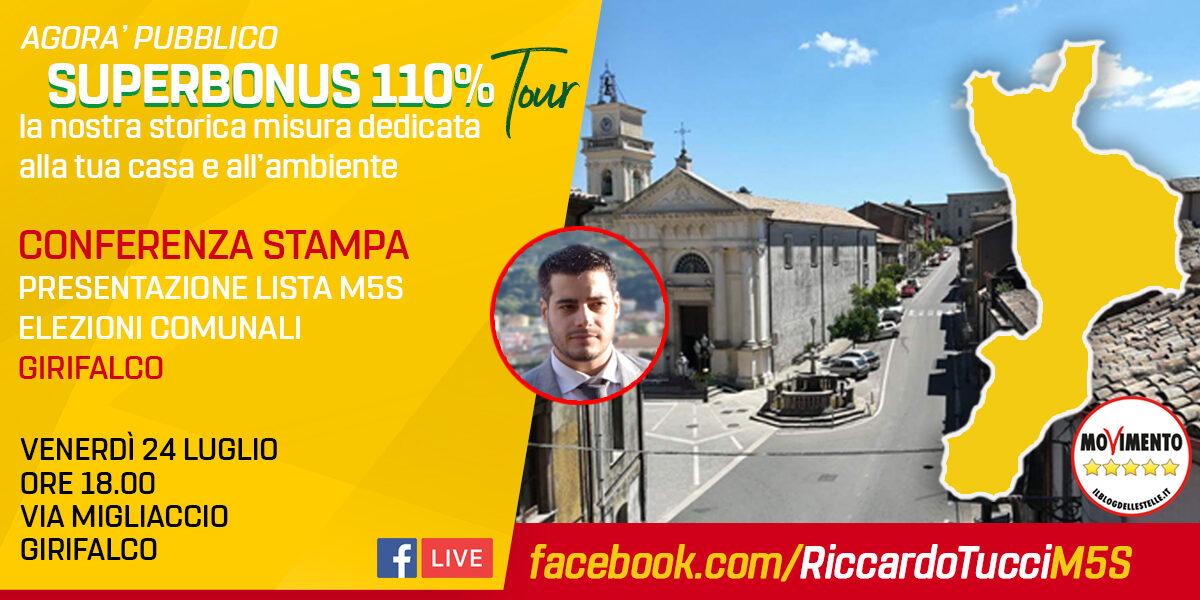 SUPERBONUS 110% - Presentazione lista MoVimento 5 Stelle elezioni comunali Girifalco
