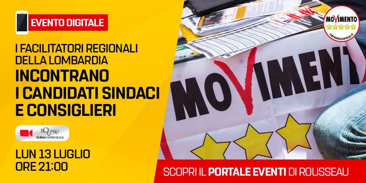 Facilitatori della Lombardia - incontro con i candidati