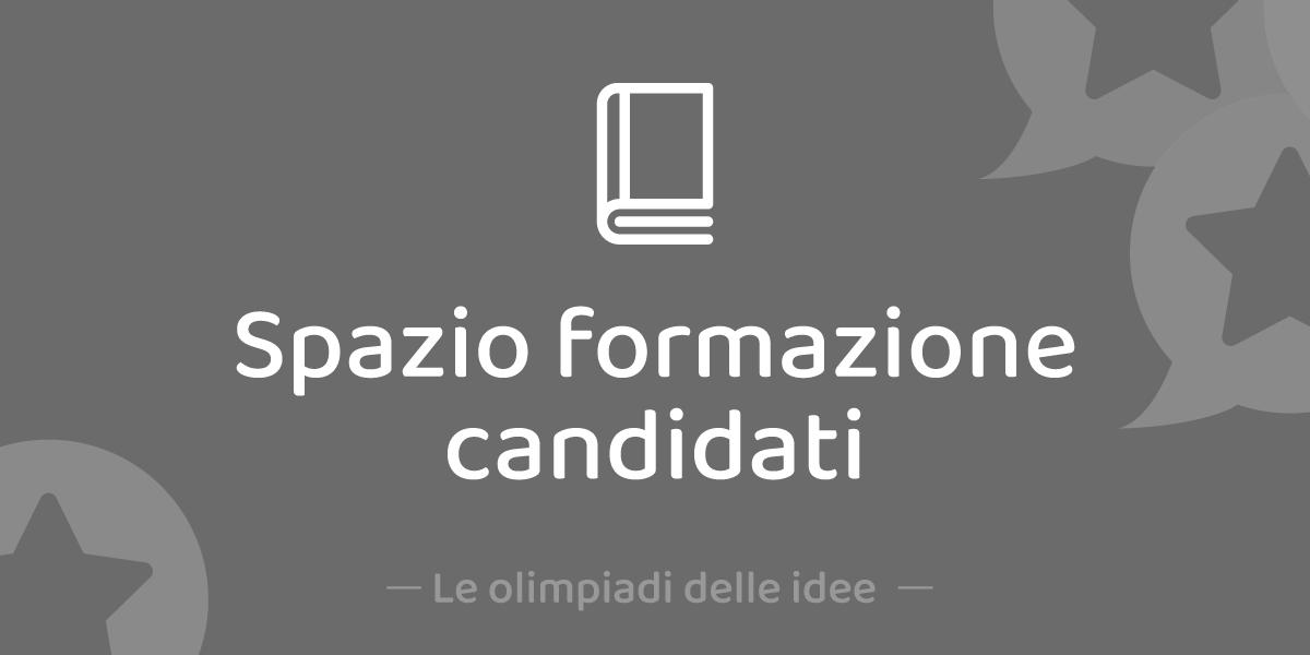 Spazio Formazione Candidati