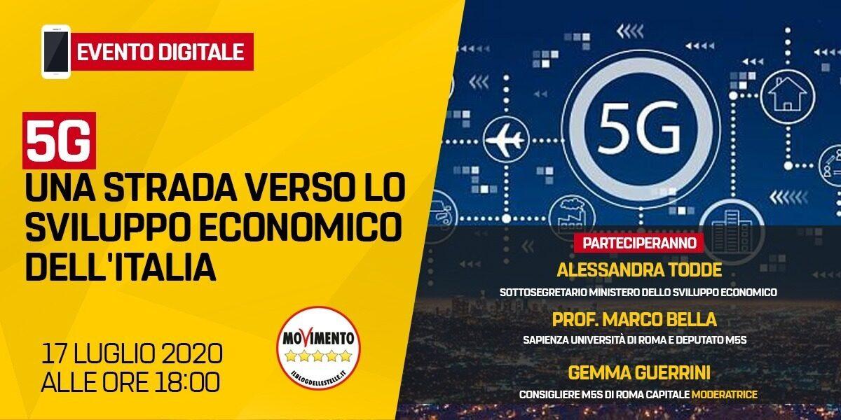 5G - Una strada verso lo sviluppo economico dell'Italia