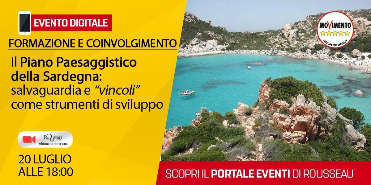 Formazione e coinvolgimento: Il Piano Paesaggistico dalle Sardegna