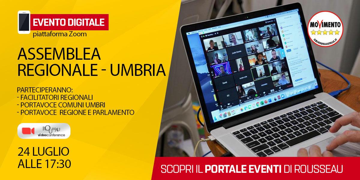 Assemblea Regionale MoVimento 5 Stelle Umbria