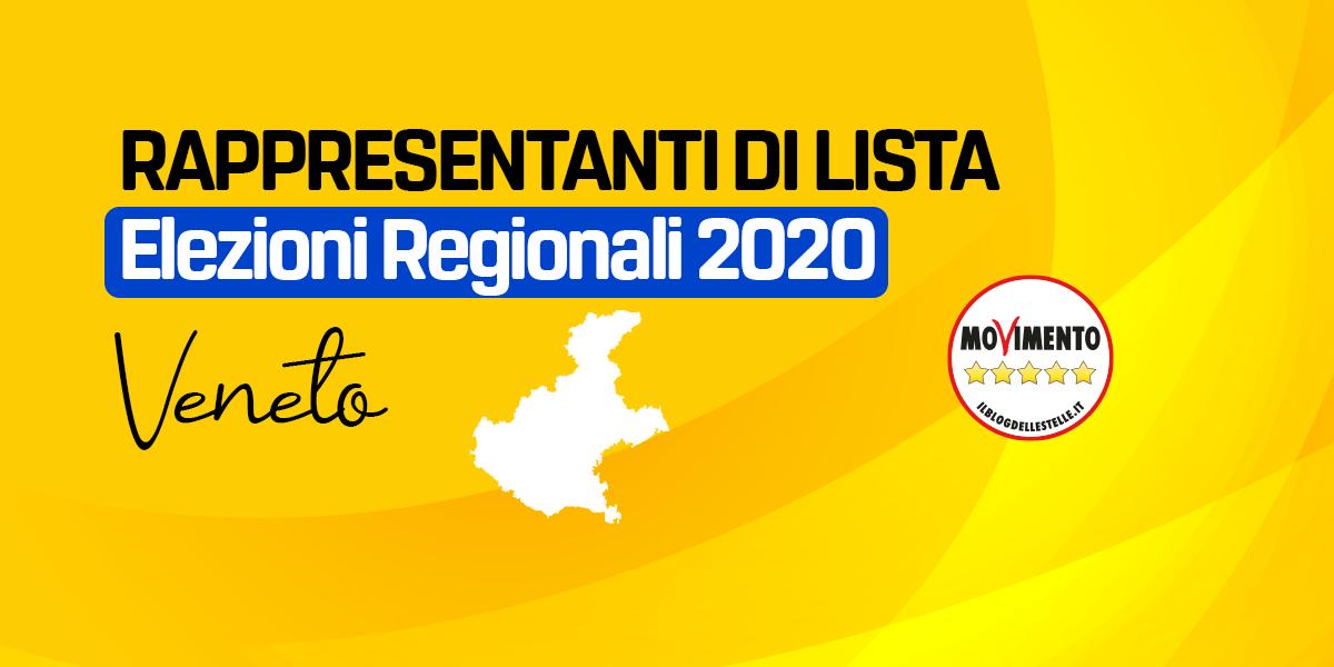 RDL VENETO - ELEZIONI REGIONALI 2020