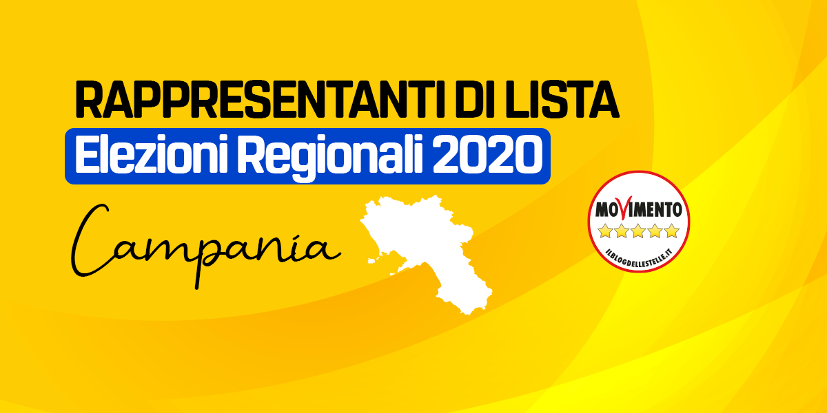 RDL CAMPANIA - REGIONALI 2020