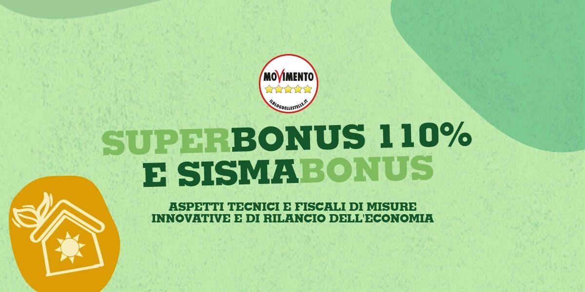Superbonus 110% e Sismabonus
