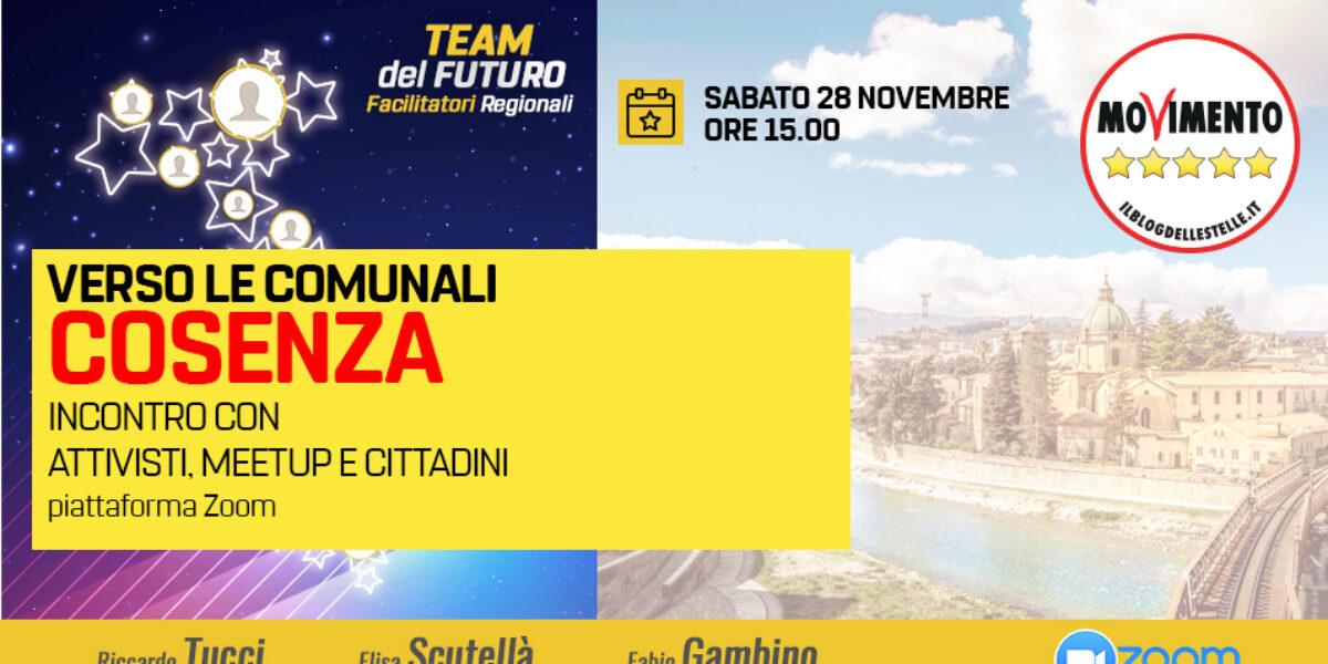 Verso le comunali di Cosenza