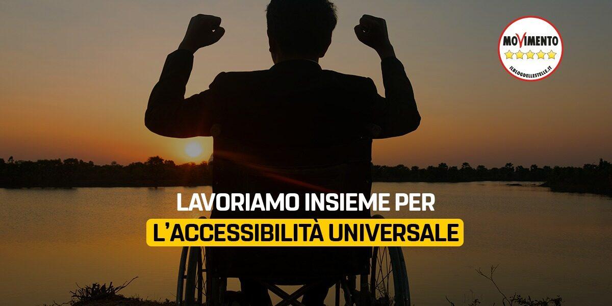 Lavoriamo insieme per l'accessibilità universale
