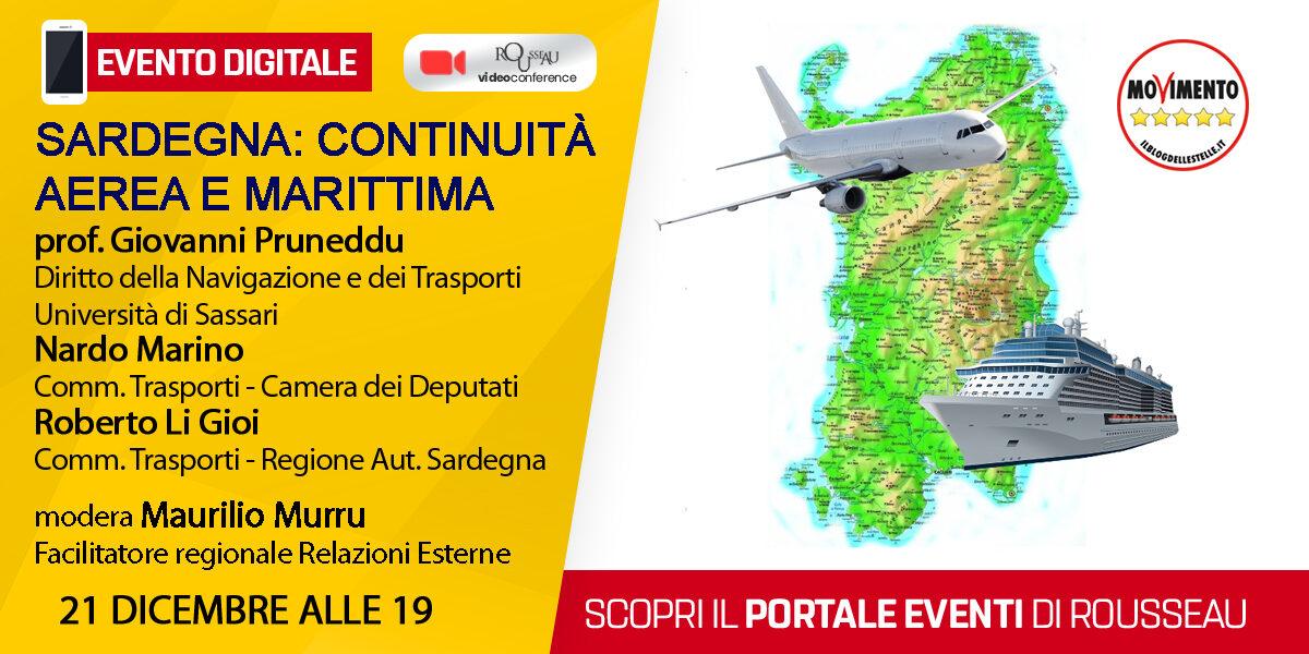 Sardegna: Continuità Aerea e Marittima