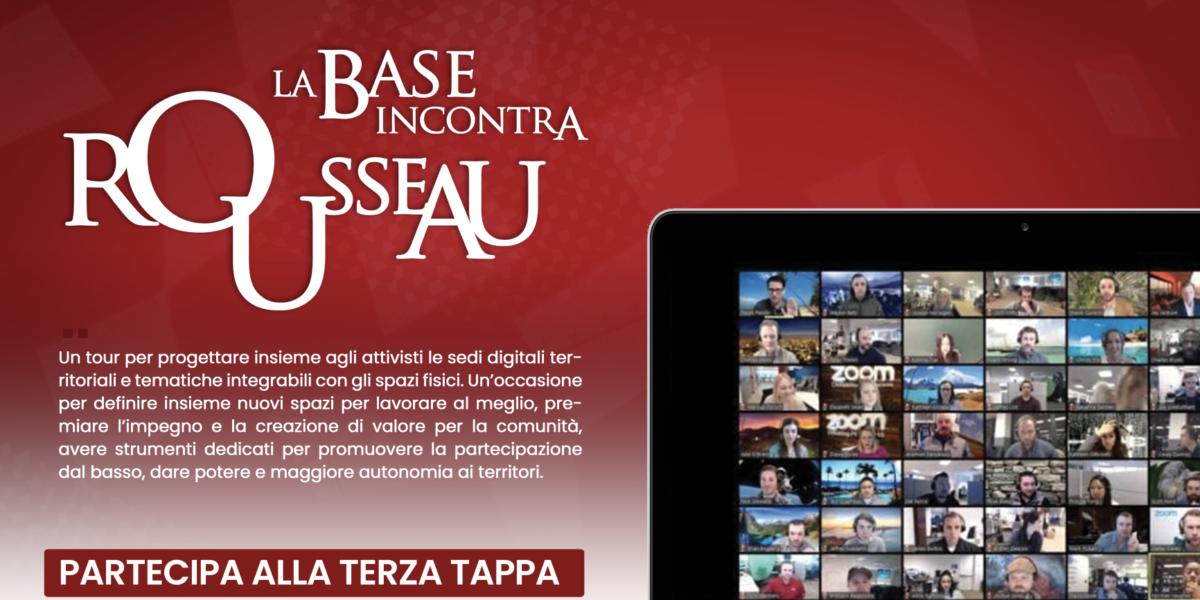 Tour - La Base incontra Rousseau - Abruzzo e Puglia