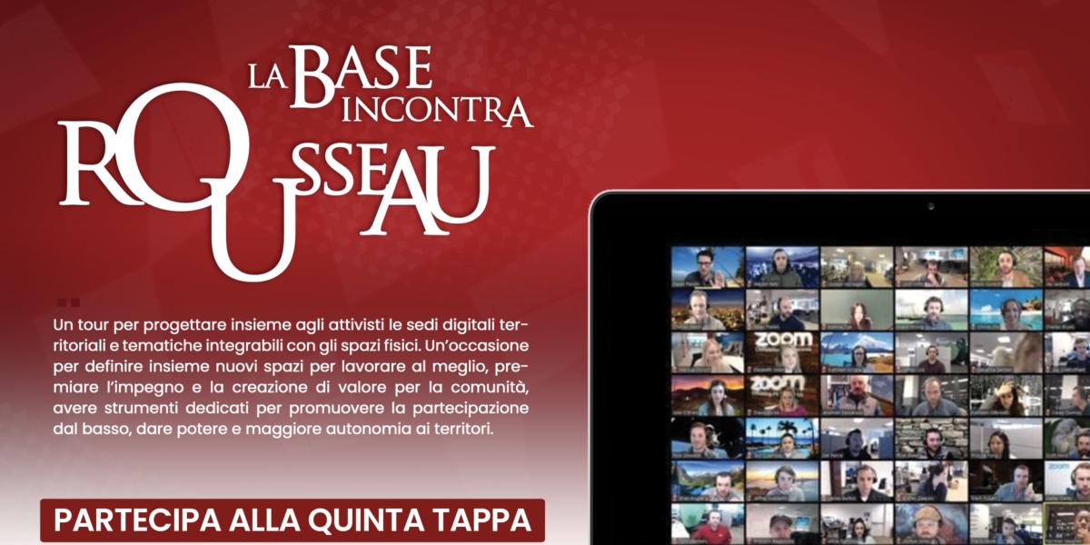 Tour - La base incontra Rousseau - Toscana e Piemonte
