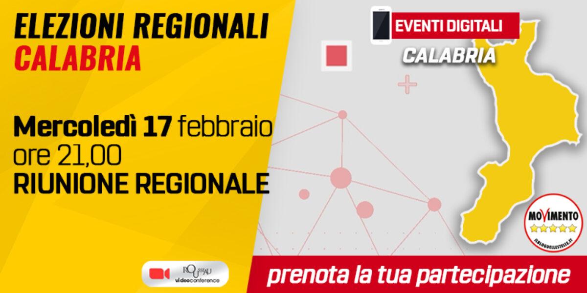 Riunione regionale attivisti Calabria