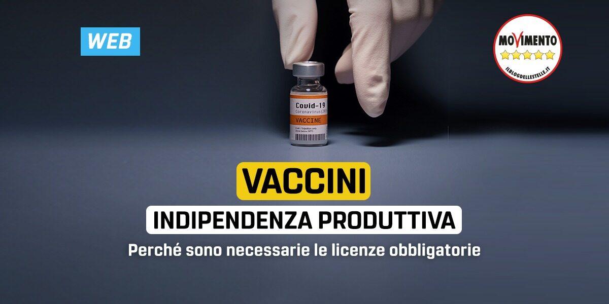 Vaccini: indipendenza produttiva