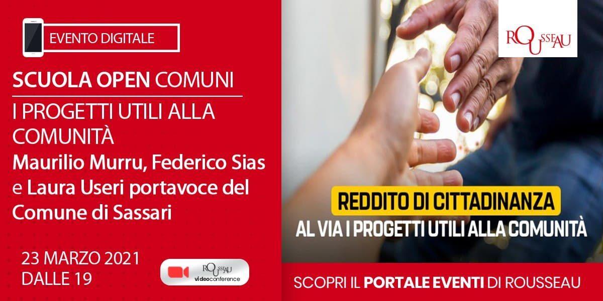 Reddito di Cittadinanza: i Progetti Utili alla Comunità