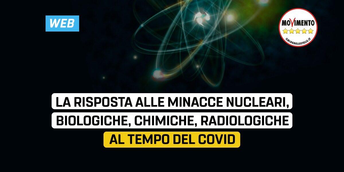 La risposta alle minacce nucleari, biologiche, chimiche, radiologiche al tempo del covid